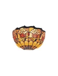 G&G Bro Red Tulip Tiffany Wall Light