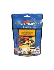 Back Country Cuisine Beef Mince (160g)