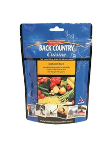 Back Country Cuisine Instant Rice