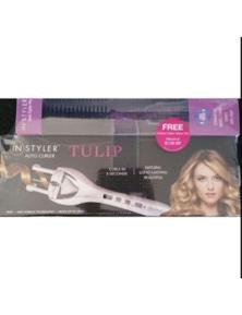 INSTYLER Tulip Auto Curler + Ionic Styler Pro Ceramic Hot Brush w Cool Bristles