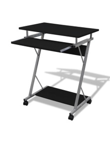 Computer Desk Pull Out Tray Office Student Table