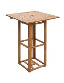 Outdoor Bar Table Acacia Wood