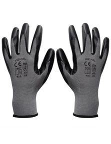 Work Gloves Nitrile 24 Pairs