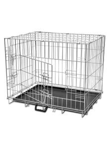 Foldable Metal Dog Bench