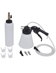 Brake And Clutch Bleeder With Fill Bottle
