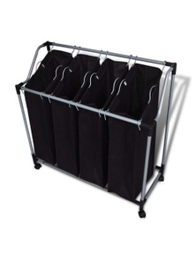 Laundry Sorter With 4 Bags