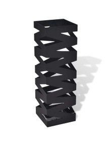 Squared Umbrella Stand Storage Holder Steel