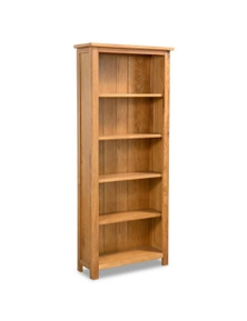 5-Tier Bookcase Oak