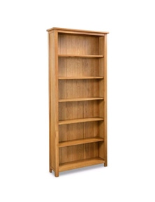 6-Tier Bookcase Oak