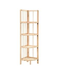 Cedar Wood Corner Shelf