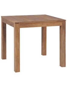 Dining Table Solid Teak Wood with Natural Finish
