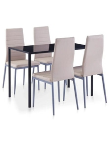 Five Piece Cappuccino Dining Set