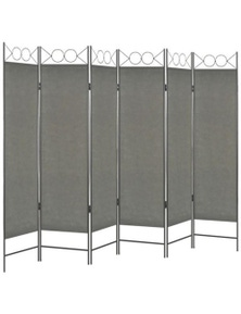 6 Panel Colour Room Divider