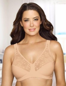Exquisite Form Front Close With Lace Posture Bra