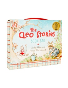 The Cleo Stories Book Bag w/ 2 Books