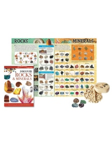 Wonders of Learning Discover Rocks and Minerals Tin Set