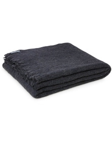 St Albans Alpaca Coal Knee Rug