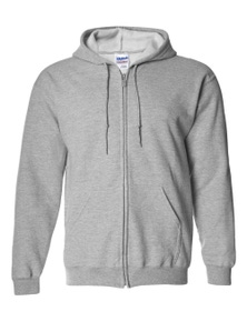 Gildan Heavy Blend Adult  Full Zip Hooded Sweatshirt