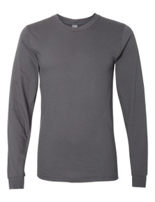 American Apparel Unisex Fine Jersey Long Sleeve T-Shirt