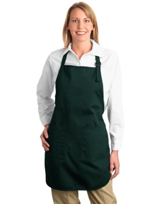 Port Authority Full-Length Apron with Pockets