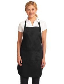 Port Authority Easy Care Full-Length Apron with Stain Release