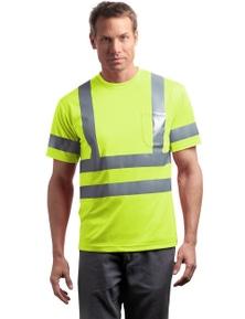 CornerStone - ANSI 107 Class 3 Short Sleeve Snag-Resistant Reflective T-Shirt