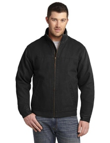 CornerStone Washed Duck Cloth Flannel-Lined Work Jacket