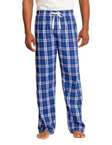 District - Young Mens Flannel Plaid Pant