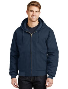 CornerStone - Duck Cloth Hooded Work Jacket