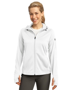 Sport-Tek Ladies Tech Fleece Full-Zip Hooded Jacket