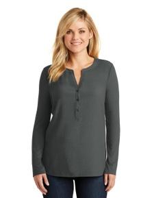 Port Authority Ladies Concept Henley Tunic