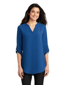 Port Authority Ladies 3/4-Sleeve Tunic Blouse