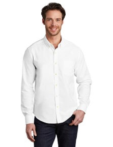 Port Authority Untucked Fit SuperPro Oxford S651