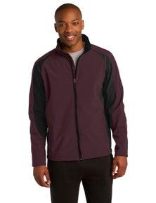 Sport-Tek Colorblock Soft Shell Jacket