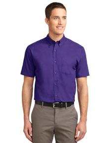 Port Authority Tall Short Sleeve Easy Care Shirt