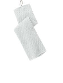 Port Authority Waffle Microfiber Golf Towel