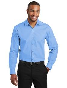 Port Authority Slim Fit Carefree Poplin Shirt