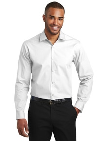 Port Authority Slim Fit Carefree Poplin Shirt