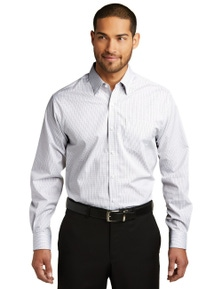 Port Authority Micro Tattersall Easy Care Shirt