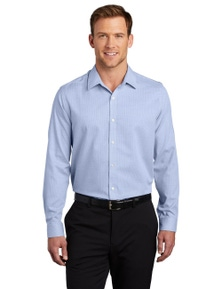 Port Authority Pincheck Easy Care Shirt W645