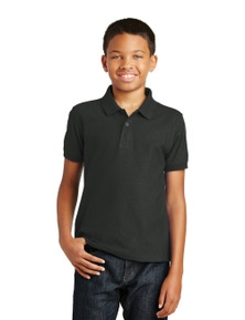 Port Authority Youth Core Classic Pique Polo