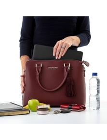 Ruby Cool Clutch (Burgundy) Ladies Cool Briefcase