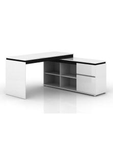 Meubilair Milano High Gloss Executive Desk