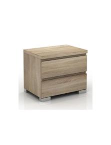 Meubilair Elara 2 Drawer Bedside Table