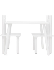 Meubilair Kids Classic 3pc Table & Chair Set