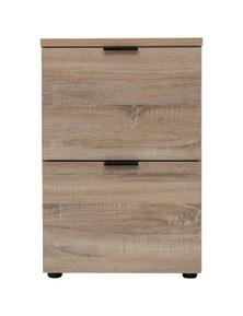 Meubilair Rico 2 Drawer Filing Cabinet