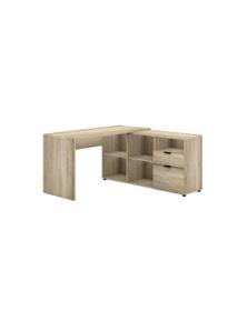 Meubilair Rico 2 Drawer 5 Compartment Executive Desk