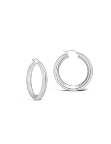 By Fairfax & Roberts - Contemporary Hoop Earrings