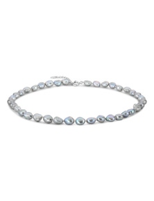 By Fairfax & Roberts - Real Baroque Pearl Short Necklace