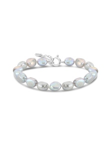 By Fairfax & Roberts - Real Baroque Pearl  Bracelet